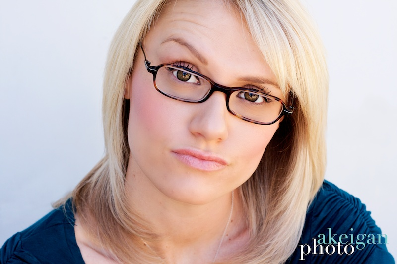 headshots with glasses